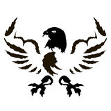 9-eagle_emblem_variations Stock Afbeeldingen