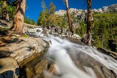 Eagle Falls bij Meer Tahoe - Californië, de V.S. royalty-vrije stock afbeelding