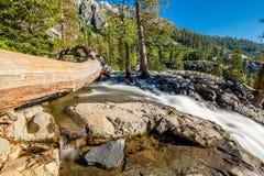 Eagle Falls bij Meer Tahoe - Californië, de V.S. stock fotografie