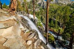 Eagle Falls bij Meer Tahoe - Californië, de V.S. stock afbeeldingen