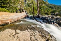 Eagle Falls bij Meer Tahoe - Californië, de V.S. stock afbeelding