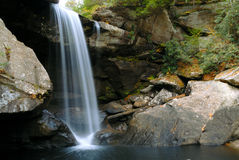 Eagle Falls at Cumberland State Resort Park. In Southeastern Kentucky, USA Stock Photography