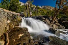 Eagle Falls at Lake Tahoe - California, USA. Eagle Falls at Lake Tahoe in California, USA Royalty Free Stock Photos