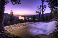 Eagle Falls. In Lake Tahoe early in the morning Stock Images