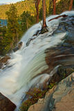Eagle Falls, Lake Tahoe. View from the top of Eagle Falls at Emerald Bay, Lake Tahoe, California Stock Photo