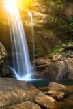 Eagle falls. Long exposure image of Eagle Falls in Cumberland Falls State Resort Park, Kentucky Royalty Free Stock Images