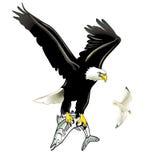 Eagle and Fish Royalty Free Stock Photos