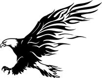 Eagle Flame Abstract chauve Photos stock