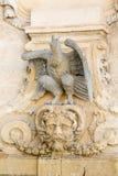 Eagle fontanna Obraz Royalty Free