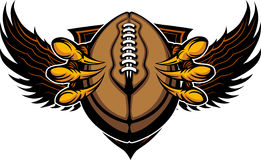 Eagle Football Talons and Claws Stock Image