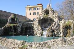 Eagle fountain vatican Stock Photos
