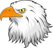 Eagle głowy maskotka ilustracji