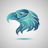 Eagle głowy profilu logo projekta ilustraci zapasu use wektor twój Fotografia Royalty Free