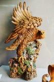 Eagle gatunków _ceramiczna rzeźba Obraz Royalty Free