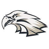 Eagle głowy loga wektor Fotografia Royalty Free