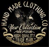 Eagle-grafische t-shirt Royalty-vrije Stock Foto's