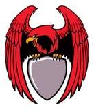 Eagle grip a sign vector illustration