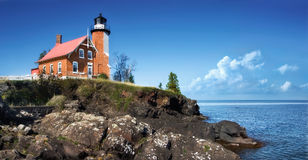 Eagle Harbor Lighthouse Royalty Free Stock Photo