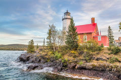 Eagle Harbor Lighthouse Royalty Free Stock Photos