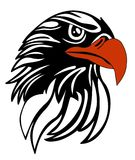 Eagle head. Illustration of eagle head vector file Royalty Free Stock Images