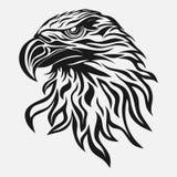 Eagle head, abstract image, freedom symbol Royalty Free Stock Photo