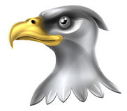Eagle Head Design Lizenzfreies Stockfoto