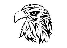 Eagle Head - emblema del ejemplo del vector Imágenes de archivo libres de regalías