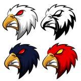 Eagle Head Mascot arrabbiato Fotografie Stock Libere da Diritti