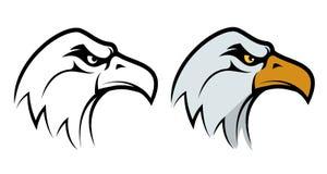 Eagle head mascot. Royalty Free Stock Image