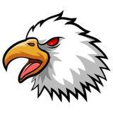 Eagle Head Mascot enojado Imágenes de archivo libres de regalías