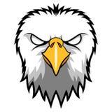 Eagle Head Mascot enojado Fotos de archivo libres de regalías