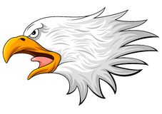 Eagle head mascot Royalty Free Stock Photo
