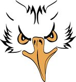 Eagle Head Profile Royalty-vrije Stock Afbeeldingen