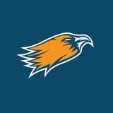 Eagle head sport mascot vector design Stock Image