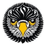 Eagle head. Tattoo design Stock Image