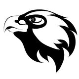 Eagle head tattoo Royalty Free Stock Photos