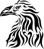 Eagle head tribal Royalty Free Stock Image