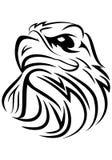 Eagle head tribal Royalty Free Stock Photography