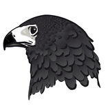 Eagle head (vector) Royalty Free Stock Photography
