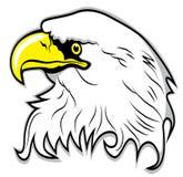 Eagle head vector Stock Image
