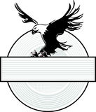 Eagle and heraldic Stock Images