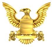 Eagle Heraldry Coat des bras Photographie stock libre de droits