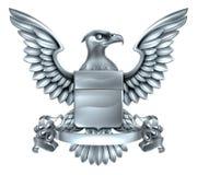 Eagle Heraldry Design Imagenes de archivo