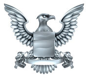 Eagle Heraldry Design Stock Images