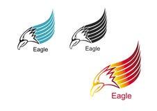 Eagle-hoofd Stock Afbeeldingen
