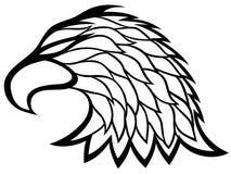 Eagle huvudtecken. Fotografering för Bildbyråer