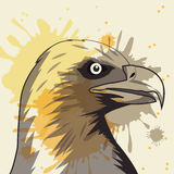 Eagle Icon Animal et conception d'art Dessin de vecteur Illustration Stock