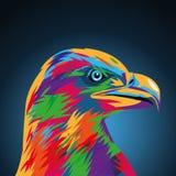 Eagle Icon Animal et conception d'art Dessin de vecteur Illustration Libre de Droits