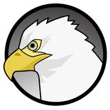 Eagle icon Royalty Free Stock Photography