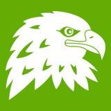 Eagle icon green Royalty Free Stock Photo